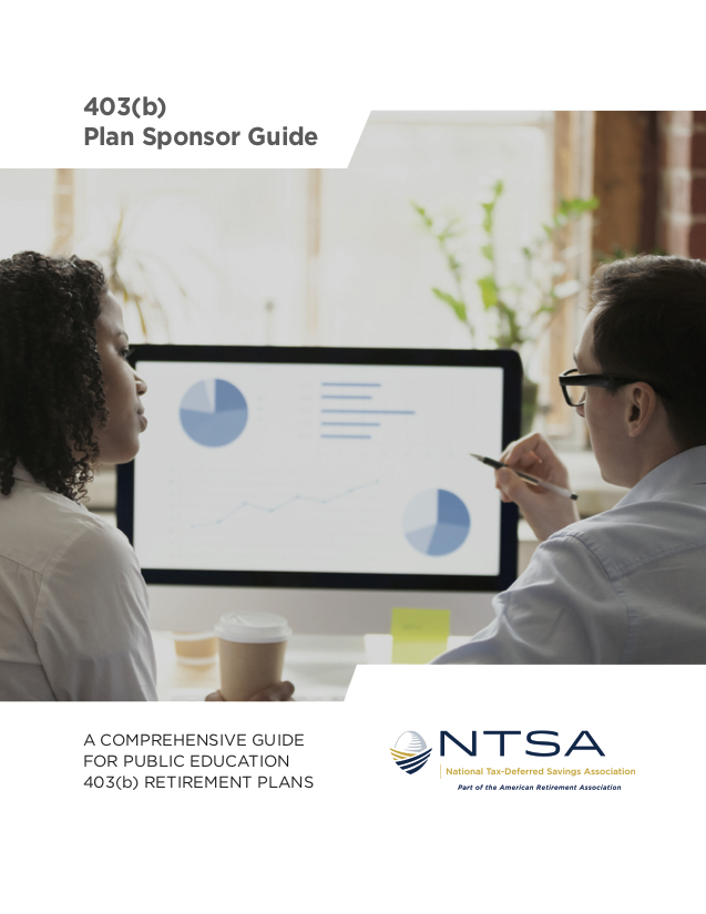 2018 NTSA 403(b) Plan Sponsor Guide